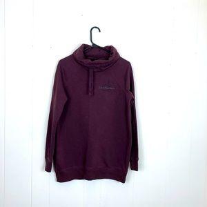 Calvin Klein Cowl Neck Hoodie Sweater Sz S